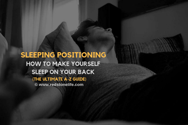 So you want to learn how to make yourself sleep on your back? Follow these tips!