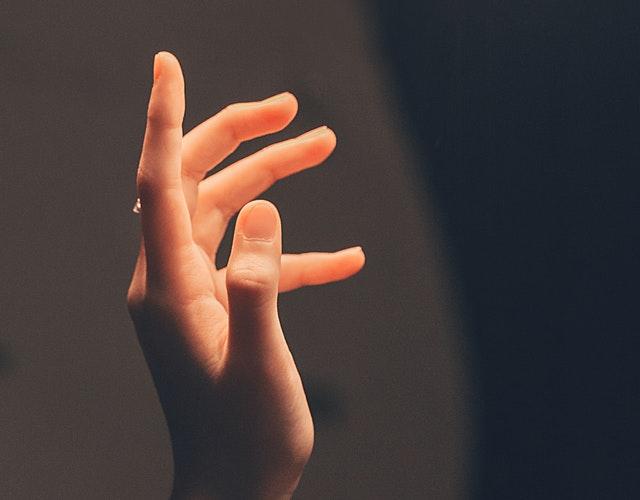 Exercise the injured finger